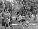 Akron Riot 1968 - Swing set