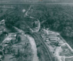 Aerial Photograph of Boston Mills Area of Boston Township, 1955
