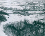 Aerial Photograph of Boston Mills Ski Resort, 1966