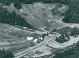 Aerial Photograph of Boston Mills Ski Resort, 1985