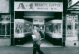A-1 Beauty Supply in downtown Akron closes, 1990