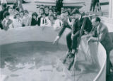 Hower Department Store Swimming Pool Display, 1959