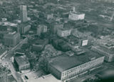Aerial Photograph looking Northeast over Downtown Akron, 1949