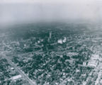 Aerial Photograph looking Northwest over Akron, Ohio, 1959