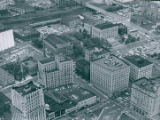 Aerial Photograph of Akron, 1962