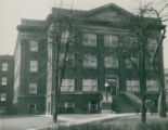 Exterior photograph of People's Hospital, 1930