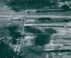 Aerial photograph of Akcan Industrial Park and I-77, 1974