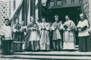 Clergy Members outside of St. Augustine Church, 1934