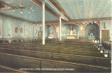 Interior of St. Augustine Catholic Church