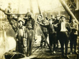 River workers on the Cuyahoga River