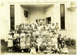 Image of Munroe Falls residents at The Village Hall