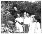Mrs. Vivian Riggins with Children