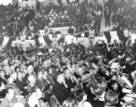 Crowd at Lyndon B. Johnson Rally