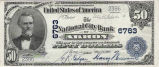 National City Bank of Akron, $50 Note