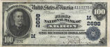 First National Bank of Akron, $100 Note