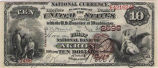 First National Bank of Akron, $10 Note