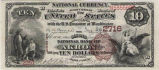 Second National Bank of Akron, $10 Note