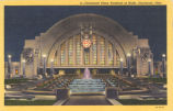 Cincinnati-Union Terminal at Night