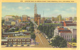 Columbus-Broad Street from Memorial Hall