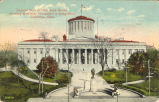 Columbus-Ohio State House and McKinley Monument