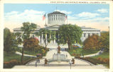 Columbus-State Capitol and Mckinley Memorial