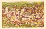 Akron-Bird's- Eye View of Downtown Akron