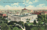 Columbus-Bird's-eye view of State Capitol