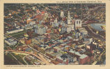 Cleveland-Aerial View of Downtown