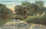 Cleveland-Rustic Bridge at Garfield Park