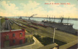 Toledo-Pennsylvania Railroad Docks