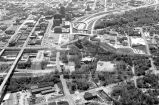 Aerial downtown Akron