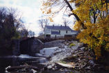 The Mustill Store in the fall.