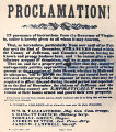 John Brown - Proclamation