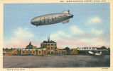 Airport Terminal and Airship