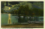 View from Albertson's Resort, by Moonlight, State Mills, Near Akron, Ohio