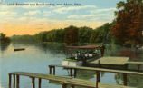 Little Reservoir and Boat Landing, near Akron, Ohio