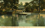 J. Gretz's Resort on Little Reservoir, Akron, Ohio. U.S.A.