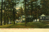 Akron Club House, Turkeyfoot Lake, near Akron, Ohio. U.S.A.