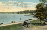 Beach and Cottages, Turkey Foot Lake, Ohio