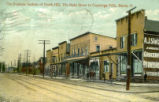 Business Section of North Hill, the Main Street to Cuyahoga Falls, Akron, O.