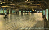Interior of Dance Hall at Silver Lake Park, Ohio.