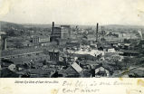 Bird's Eye View of East Akron, Ohio