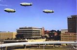 Downtown Akron - Blimps