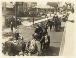 Horse-Drawn Carriages in Akron Parade