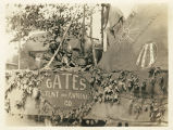 Gates Tent and Awning Company Float