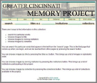 Greater Cincinnati Memory Project