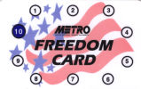 Ticket - Freedom Card