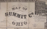 Summit County Map 1856