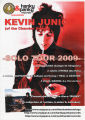 Kevin Junior Solo Tour Promotional Poster