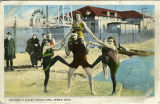 Bathers at Summit Beach Park, Akron, Ohio